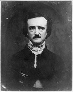 Edgar Allan Poe from the Library of Congress collection